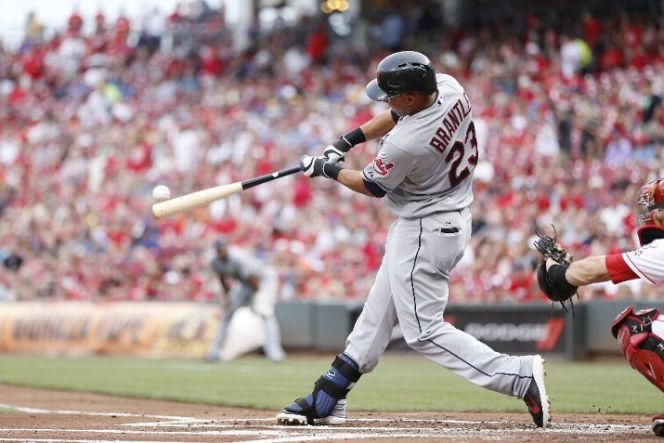 Coming off an extraordinary all-around 2014 season, Michael Brantley has the tools to lead the Indians deep into the postseason. (Photo by Joe Robbins/Getty Images)