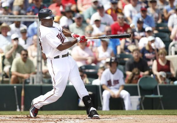 Torii Hunter's return to Minnesota has revitalized the Twins, fueling the team into contention. (Photo by Brian Blanco/Getty Images)