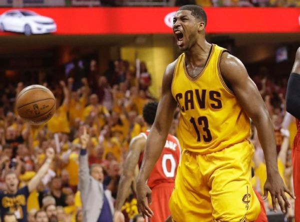 Tristan Thompson's impact is as important to the Cavaliers' success as anyone. (AP Photo/Tony Dejak)