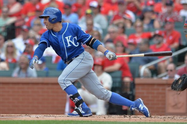 Kansas City Royals shortstop Omar Infante, batting .207, is in line to start the All-Star Game. There is something terribly wrong here. (Photo by Michael Thomas/Getty Images)