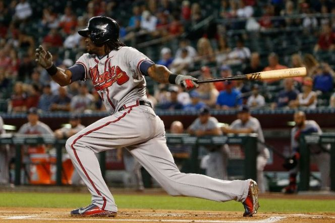 Everything is coming together for Cameron Maybin, who is starring in Atlanta. (Photo by Christian Petersen/Getty Images)