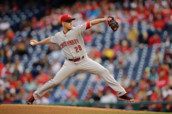Anthony DeSclafani has delivered as one of four rookie pitchers given the reigns to the Cincinnati Reds rotation. (AP Photo/Matt Slocum)