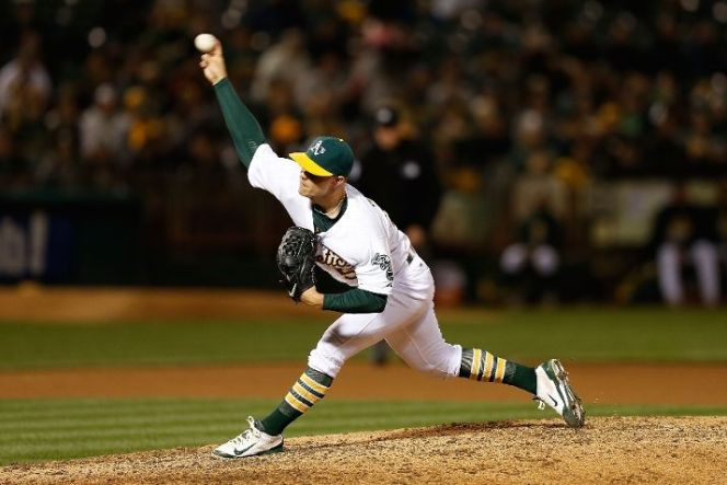 Oakland's Sonny Gray has built off last year's success to become one of the best pitchers in baseball. (Photo by Lachlan Cunningham/Getty Images)