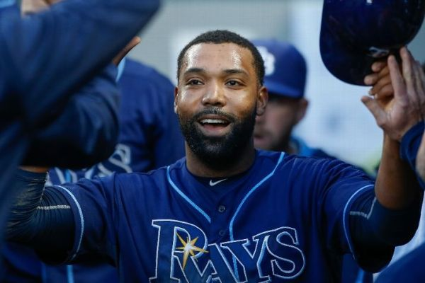 After spending much of the past seven years in the minor leagues, Joey Butler is making most of chance with Rays. (Photo by Otto Greule Jr/Getty Images)