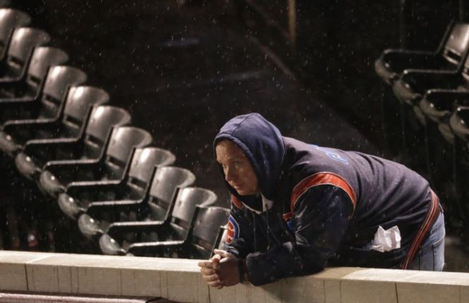In 2004, Boston fans had that same dejected look on their face following Game 3 of the Championship Series. Then their team made history. (Photo: AP)